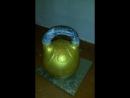Жим золотой гири 32,4 кг вверх дном
