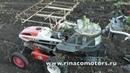 Кубота КР-1К . Японский рассадопосадочный комбайн