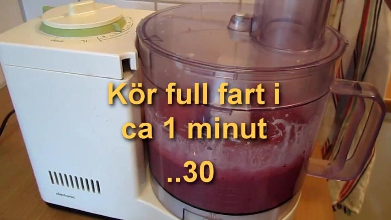 Att göra äkta glass på 2 minuter! - How to make icecream in 2 minutes!