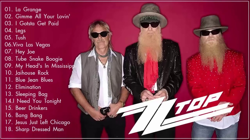 ZZ Top Greatest Hits 2018 - The Very Best Songs Of ZZ Top - Best Of ZZ Top 2018