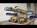 Роторный экскаватор Lego Technic и машинки Lego
