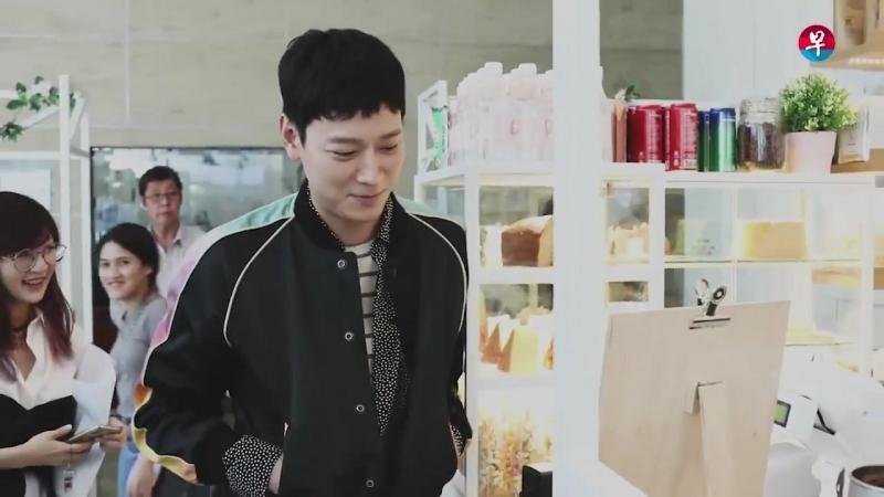 Gang Dong Won orders coffee in Singapore - Kopi challenge