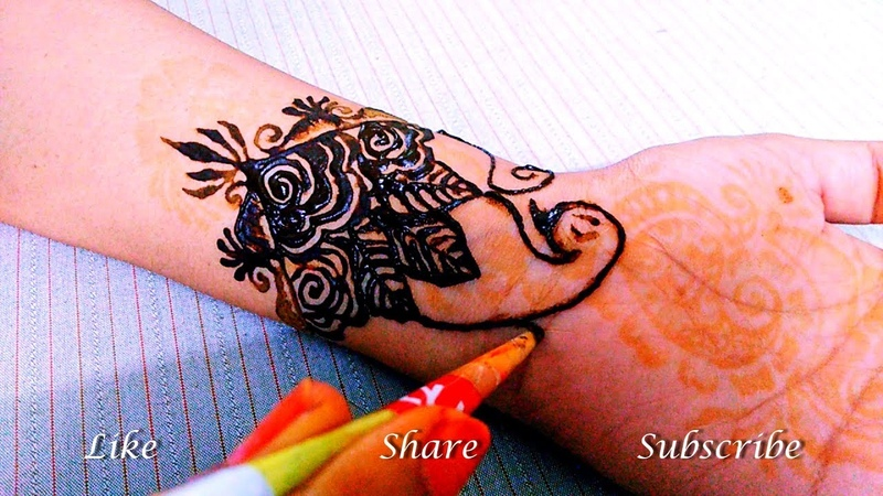 Latest bold Mehendi Design | Full hand Mehndi Design | Henna Art || by Fankaara diaries