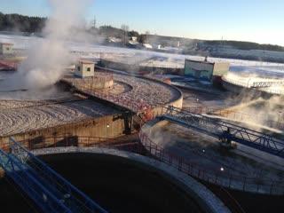Китайский завод беленой целлюлозы в Светлогорске начал выбрасывать отходы в реку Березину!