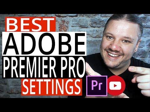 Best Adobe Premier Pro CC YouTube Rendering Settings 2018 - Smaller Files   Faster Export Uploads