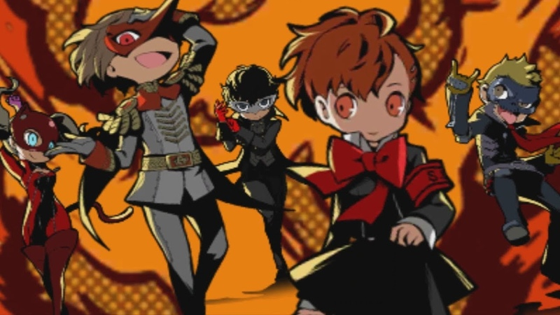 Persona Q2 JPN Gameplay 3 - New Attack Plan (3DS)