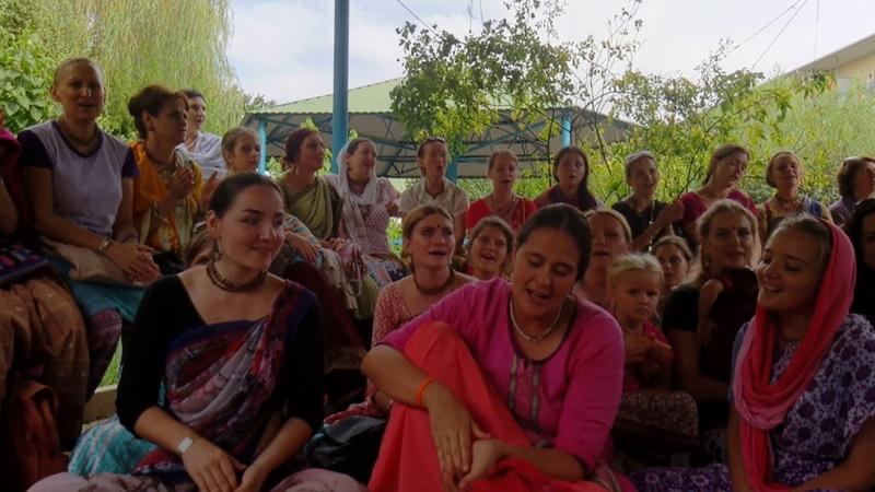 Встреча учеников Е С Индрадьюмна Свами Махараджа Садху Санга 2018 часть 1