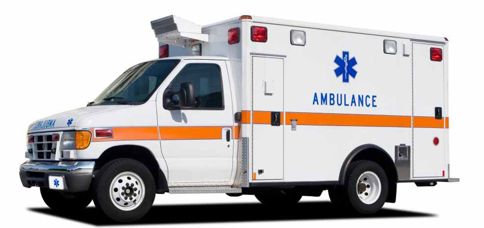 Техники неотложной медицинской помощи - это обученные медицинские работники, которые едут на борту машин скорой помощи.