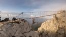 Подвесные мосты на горе Ай-Петри в Крыму 1234м. НЕ ПОВТОРЯТЬ