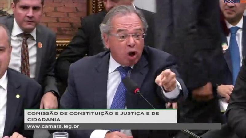 Paulo Guedes ataca oposição na CCJ Por que deram dinheiro para a JBS