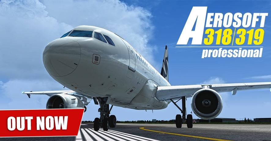 Aerosoft Airbus A318-321 Professional 2018 Edition — Модели
