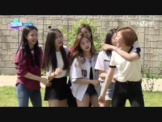 150612 Специальное видео с отдыха на природе участниц шоу на выживание Mnet @ Sixteen.