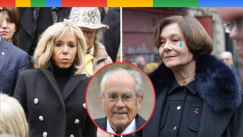 0bs.èques de Michel Legrand lémotion de sa veuve Macha Méril soutenue par Brigitte Macron