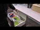Обзор угловой кухни с искусственным камнем Фасады MDF Фурнитура BLUM