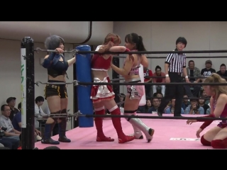 Ito Respect-gun (Maki Ito & Mizuki) & Yuka Sakazaki vs. Miu, Nodoka Tenma & Yuki Aino - TJP How Do You Like Itabashi?