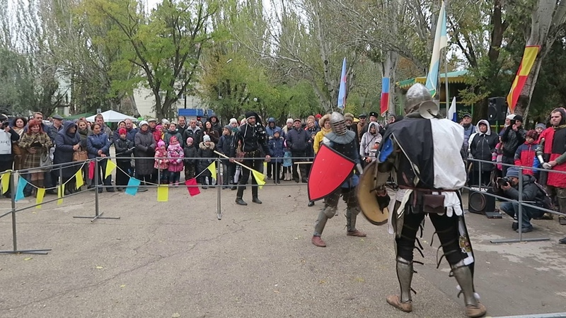 В Феодосии стартовал турнир «Щит Кафы»