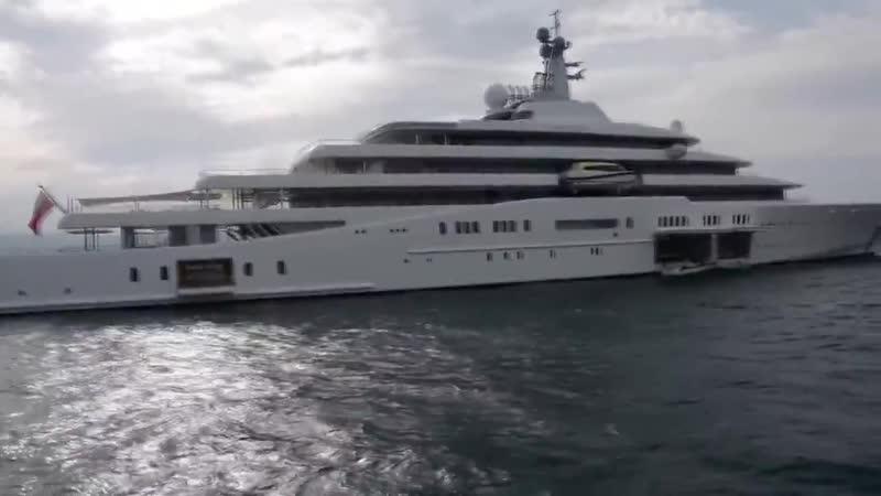 Яхта Романа Абрамовича Eclipse (Затмение)