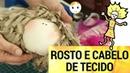 ROSTO E CABELO DE TECIDO PARA BONECA DE PANO PASSO A PASSO DRICA TV