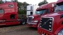 Дальнобой Обзор VOLVO VNL 670 и Freightliner