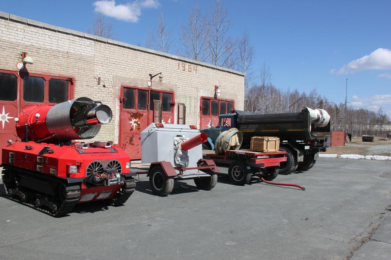 Ярмарка вакансий в пожарной части