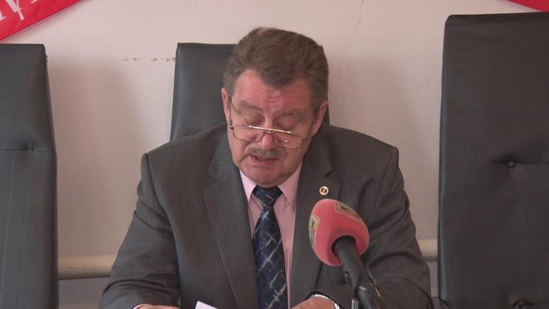 Брифинг председателя Амвросиевского районного суда Юрия Толока