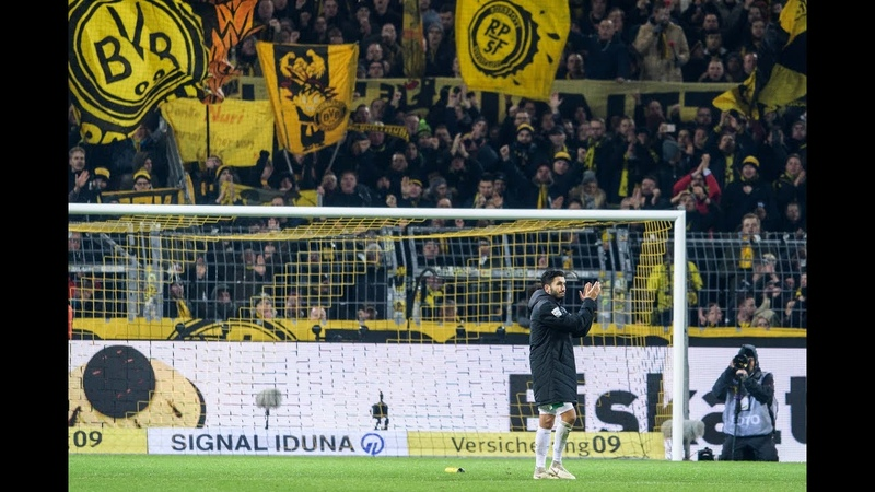 Amazing scenes as Dortmund say farewell to club legend Nuri Sahin