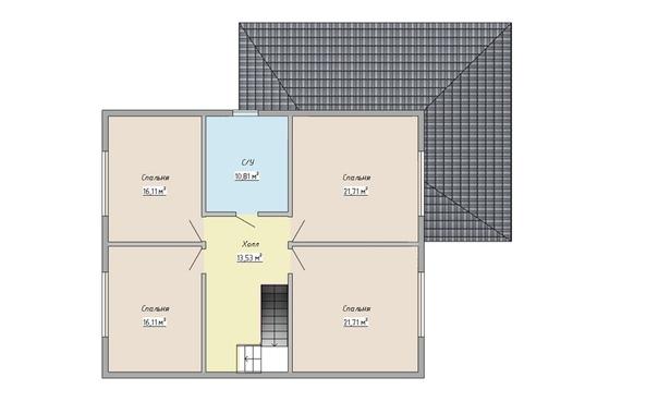 Взяли в работу комфортабельный дом для большой семьи недалеко от Санкт-Петербурга, в д. Ексолово. 👍👌 Коротко о доме:  - Площадь - 231м2, два полноценных этажа - Нулевое и чердачное перекрытие из SIP панелей ULTRASIP® EXTRA толщиной 224 мм, межэтажное - по каркасной технологии.  - Наружные стены из СИП-панелей 174 мм.перегородки внутри - - каркасные, обшиты с одной стороны ОСБ 12 мм.  - Пиломатериал, применяемый при сборке дома - камерной сушки влажностью 8-16%, простроган на четырехстороннем станке, и заранее, в цеху, обработан антисептиком.  - Дом будет собран на ершеные гвозди, как это делают родоначальники технологии.  - Дом защищен ветровлагозащитной мембраной ULTRASIP®-Защита дома (подарок от компании!)  - Кровля: Металлочерепица