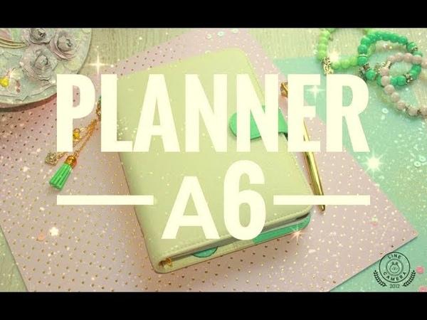 Как сделать маленький планнер а6 формата с нуля