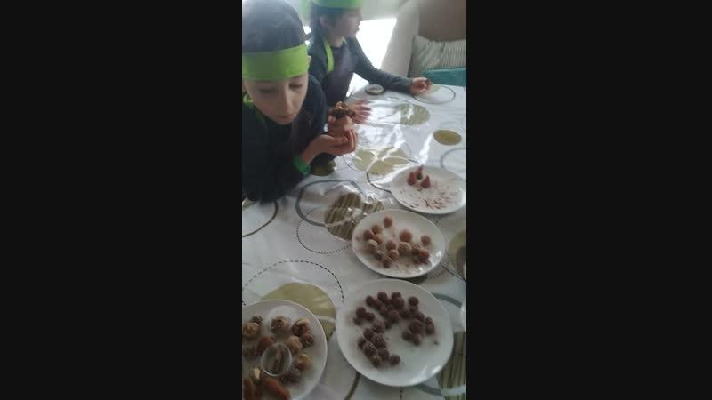 Детский мастер класс в итальянском ресторане
