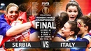 Serbia vs Italy - FINAL GOLD MATCH (Highlights) | Women's World Championship 2018