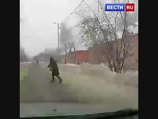 91-летняя бабушка угодила в больницу после наезда в Иванове