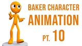 CGC Classic Baker Character Animation Pt. 10 - Hand Gestures and Walk Cycle (Blender 2.6)