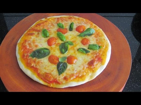 Bánh pizza Margarita Пицца Маргарита рецепт Hướng dẫn làm bánh pizza margherita recipe video clip