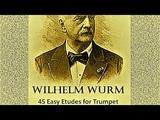 Wurm - 45 Easy Etudes for Trumpet - 14 Allegro #TRUMPET #ETUDES #WURM