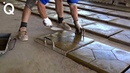 Amazing Creative Construction Workers Make Tiles and Bricks