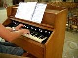 Harmonium - Reed organ Bach-Toccata jou