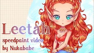 Leetah Speedbaint by Nukababe   Elfquest Fan Art   Patreon Learning Pack #22