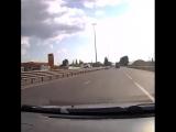 Видео момента ДТП в Елизаветинской. ● Видео:dtpkrd