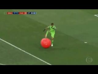 О жесткости современных футболистов...