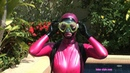 A PINK LATEX DOLL'S UNDERWATER ADVENTURES