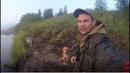 Сплав по реке Тобыш, жизнь в избе, охота и ловля рыбы в тайге.Русский север