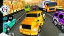 Highway Truck Driving Simulator Race Game Crash