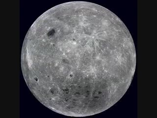The full rotation of the Moon as seen by NASA's Lunar Reconnaissance Orbiter