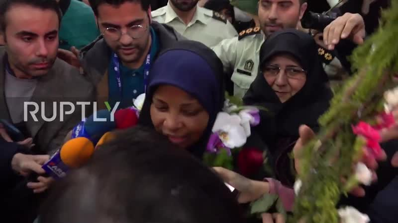 Iran: PressTV reporter Hashemi back home after US detention