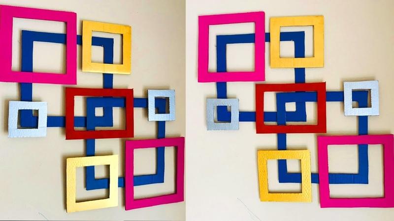 DIY Easy Abstract Wall Decor / Home Decor ideas