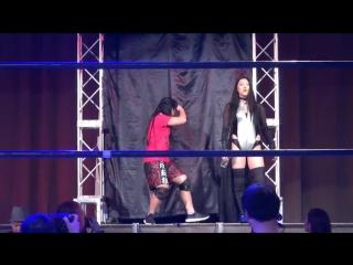 Hiromi Mimura & Konami vs. Oedo Tai (Kris Wolf & Natsu Sumire) - Stardom Year-End Climax 2017