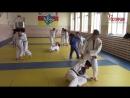В Северной Осетии росгвардеец проводит тренировки по дзюдо для школьников