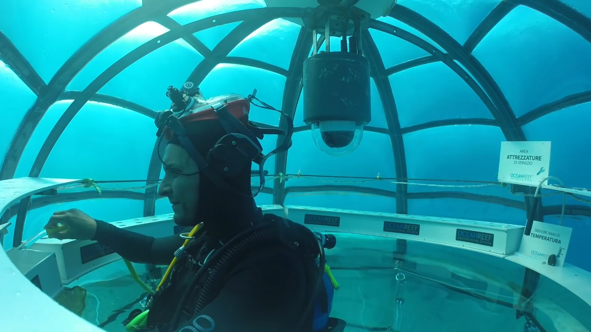 Сад Немо подводные культивации для увеличения производства продуктов питания Sergio Gemberini, генеральный директор итальянской компании Ocean Reef, создал Nemo Garden. Владелец двух компаний, занимающийся подводным плаванием в Италии и Калифорнии, во время отпуска в Ноли, придумал интересную идею выращивания растений в море. У Серхио Гамберини возникла идея сада под водой, он мечтал превратить подводное плавание в более интерактивную деятельность. Его первоначальный план состоял в том, чтобы закрепить шар гибкого материала, содержащий вазу с заводом до морского дна. К его удивлению, завод не умер и вырос. Следующим шагом было применить тот же метод, используя семена, которые прорастали в течение 36 часов. На участке площадью 15 м2 в настоящее время имеется семь биосфер, каждая из которых имеет размер комнаты. В каждой сфере насчитывается около 60 растений, питаемых гидропонными инструментами и орошаемых гравитационными системами. Это базилик, чеснок, редис, капуста и клубника, просто чтобы привести некоторые примеры. Специалисты по дайвингу склонны утверждать, что эти растения не будут иметь тех же характеристик, что и на земле. Sergio Gemberini утверждает, что «море самодостаточное, свободный инкубатор». В заливе Ноли Noli температура воды довольно стабильна и, следовательно, предлагает растениям постоянный тепловое питание. Со своей стороны, вода моря действует как фильтр, увлажняя растительный покров. В результате растения, выращиваемые под водой, являются более здоровыми и более качественными. Аромат и вкус  более интенсивны, чем у растений, выращенных на Земле. Биосферы - идеальные теплицы, так как никакие паразиты не могут их достичь. Поэтому отпадает необходимость в пестицидах или других химических веществах. Естественное испарение обеспечивает испарение пресной воды внутри сфер, позволяет систематически орошать растения. Кроме того, эксперименты показали, что эти растения растут быстрее, чем их терригенные коллеги. Серхио Гамберини работает с экспертами в о