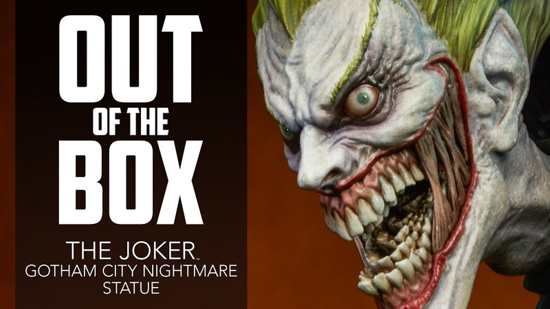 Unboxing Joker Statue - Sideshow Collectibles Exclusive