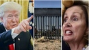 Loyalty To Pelosi Crum bling 8 Democrats Leadership Support Trump's Wall